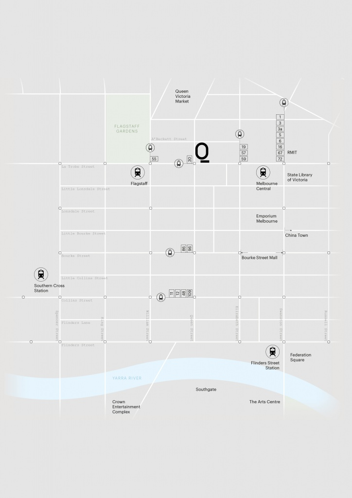 Queens Place Getting Around Map