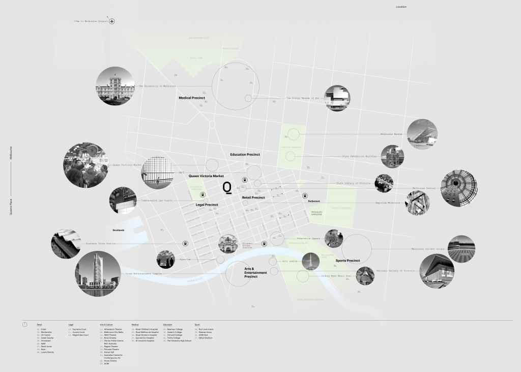 Queens Place Amenities Map 2